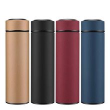 High Quality 450ML Home Thermos Tea Vacuum Flask With Filter Stainless Steel 304 Thermal Cup Coffee Mug Water Bottle Office Busi 450ml hot water thermos tea vacuum flask with filter stainless steel 304 sport thermal cup coffee mug tea bottle for winter