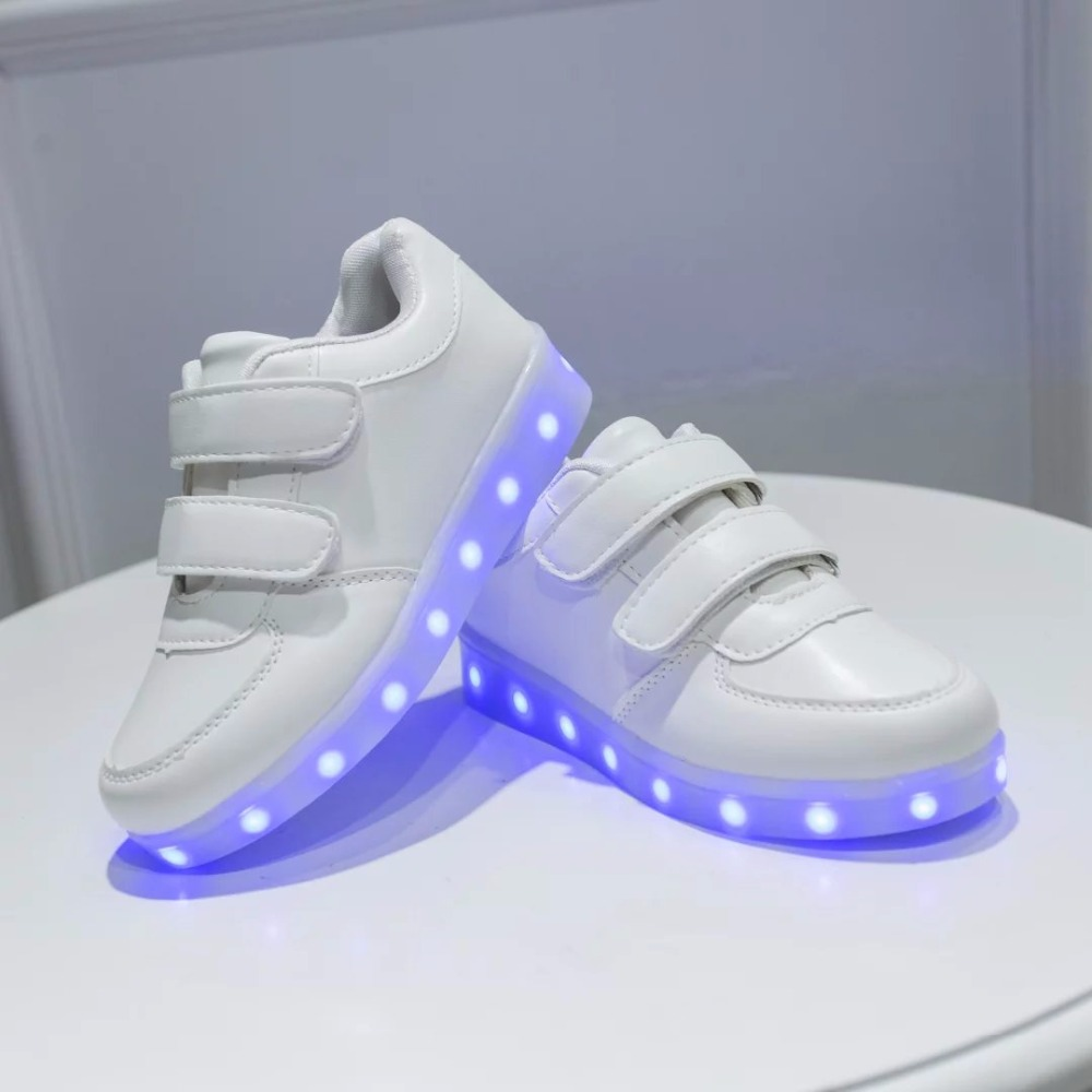 Led Sneakers Classic Strap Kids 9