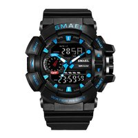 SMAEL Men Sports Watch 50M Waterproof Digital Watch Military Army Clock LED Display 1436 Male Watch