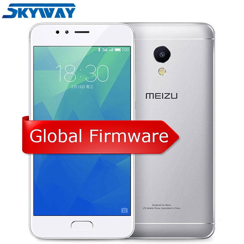 MEIZU M5S 3gb 16gb Cell-Phone Octa Core Fingerprint Recognition 13mp New Metal GPS Body-Wifi