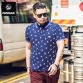 Бренд мужской одежды плюс размер polo рубашки плюс размер повседневная лето человек контраст цвета свободные 6xl 5xl мода синий топы и тройники