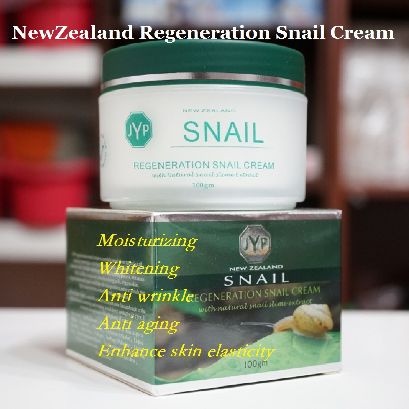 100% Original NewZealand JYP Skin Regeneration Snail Cream Collagen face cream Moisturizing Whitening Face Anti Wrinkle Cream