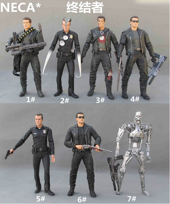 NECA The Terminator 2 Action Figure T-1000 Pescadero Hospital Figure Toy  15CM Y6410NECA The Terminator 2 Action Figure T-1000 Pescadero Hospital Figure Toy  15CM Y6410