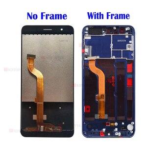 "Image 2 - هواوي الشرف 8 شاشة الكريستال السائل محول الأرقام بشاشة تعمل بلمس Honor8 LCD ل 5.2 ""هواوي الشرف 8 LCD مع الإطار FRD L19 FRD L09 استبدال"