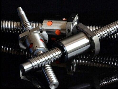 CNC kit! SFU2505 BALLSCREW Set: 1 unid tornillo de la Bola 2505 L600mm No End mecanizada + 1 unid 2505 tuerca de bolas комплектующие для 3d unid книга трафаретов для 3д рисования
