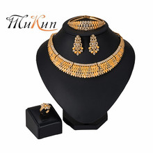 2019 NEW Bridal Gift Ethiopian Jewelry Gold Color Rope Sets for African /Ethiopia /Eritrean Women wedding jewelry sets