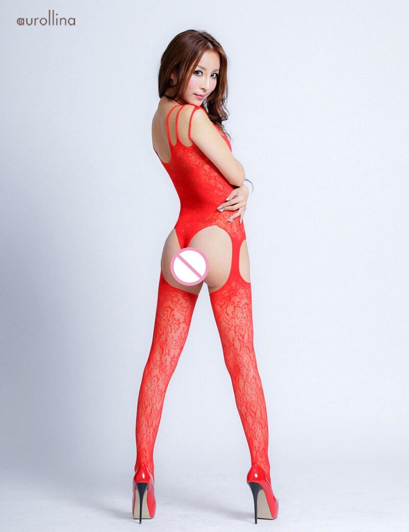 Sexy-Garter-Belt-BodySuit-Bodyhose-7022-(2)1