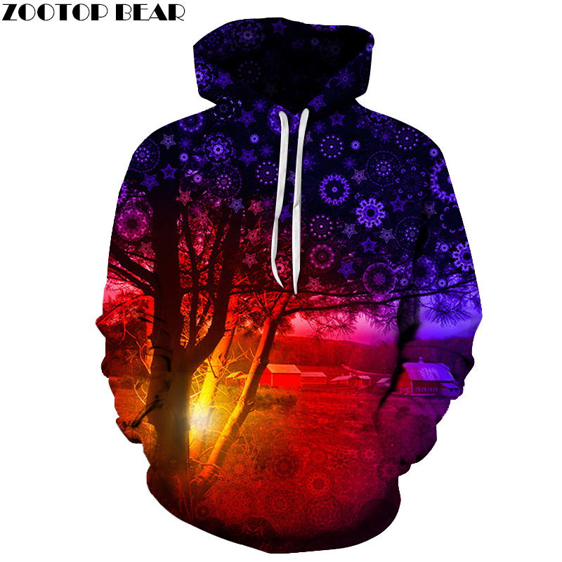 Funny Tree Hoodies Men Women 3D Sweatshirts 6XL Hooded Pullovers Fashion Brand Hoodies Unisex Tracksuits Casual Coats Outwear