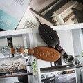 2016 Nuevo Llavero Llave Del Coche de Control Remoto de Coches de Cuero Genuino Caso de la Cubierta para Nissan X-trail Qashqai Tidda Livida Teana Marzo