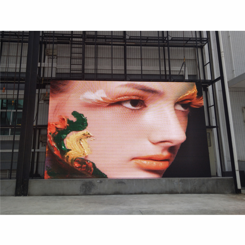 P6 576×576mm Outdoor LED Screen  Die Casting Aluminum Cabinet, SMD3535 RGB Waterproof LED Display Billboard For Rental
