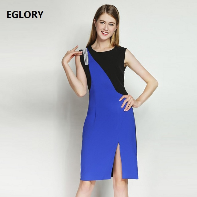 Korte jurk split
