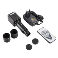 Digital HDMI Camera Microscope Portable Electronic Eyepiece Mobile Phone Maintenance Microscope Camera with 0.5X C Mount Lens
