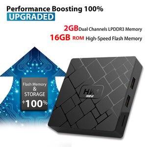 Image 5 - New, Hk1 Mini Smart Tv Box Android 9.0 2Gb+16Gb Rk3229 Quad Core Wifi 2.4G 4K 3D Hk1 Mini Google Netflix Set Top Box(Uk Plug)