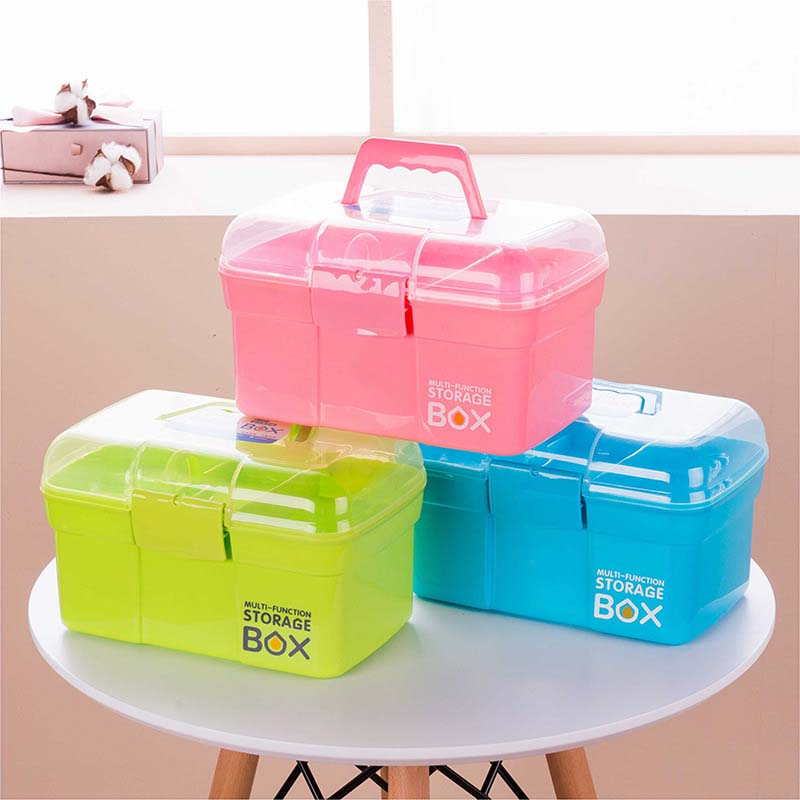 Baby Care Adroit Baby Healthcare Kit Medical Care Set Portable Medicine Family Box Expenses First Aid Kit Medicine Box Child Baby Drug Storage
