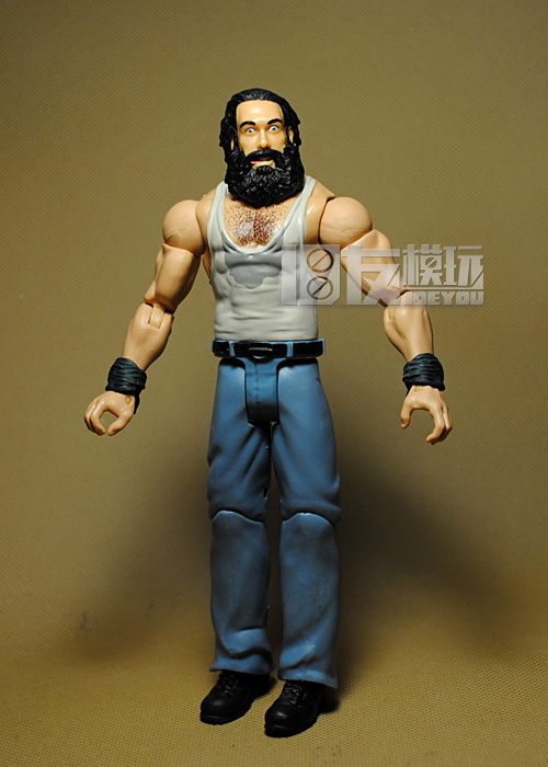 18CM JAKKS High Quality Classic Toy Super Movable Wrestler occupation wrestling Luke Harper Fighter action figure Toys