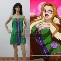 Fairy Tail Evergreen Ebagurin Cosplay Costume customized