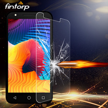 Fintorp Tempered Glass For Alcatel U5 C5 C7 A7 A30 Screen Protector For Alcatel Pop 3 4 Plus Pixi 3 Idol 3 5S Protective Glass цена