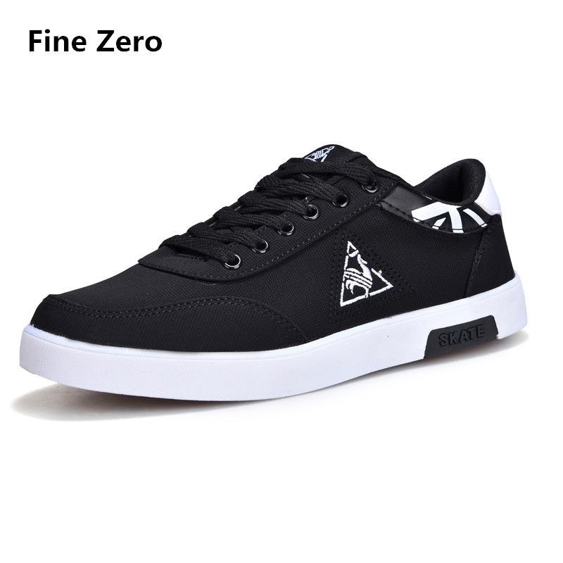 Men Autumn Goose Canvas Shoes Classic Flat Male Brand Footwear Mens Causal Shoes Adult Summer Sneakers for Men one size small