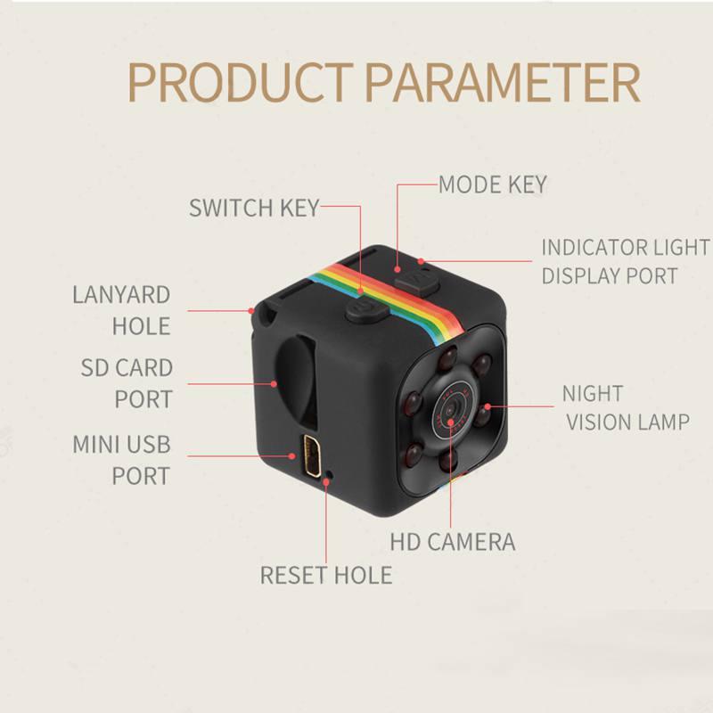 Image 4 - 1080P Sport DV Mini Camera 480P Sport DV Infrared Night Vision Camera Car DV Digital Video Recorder Mini Camcorders-in Hunting Cameras from Sports & Entertainment