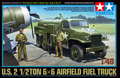 TAMIYA MODEL 1/48 SCALE military models #32579 U.S. 2 1/2ton 6x6 Airfield Fuel Truck