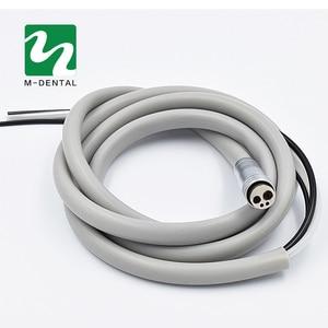 Image 4 - 2 teile/paket Dental 4 Löcher handstück Schlauch Rohr mit Stecker für Hohe Geschwindigkeit handstück Zahnmedizin Material Freies Verschiffen
