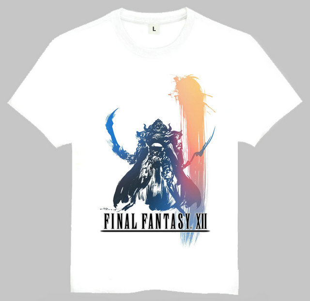 Final Fantasy Printed T-Shirt