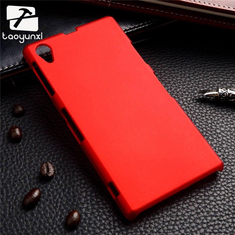 TAOYUNXI жесткого пластика Телефон Чехлы для sony Xperia Z1 L39H C6903 C6943 LT39 C6902 C6906 5,0 дюймов ультра тонкая резиновая чехол телефона