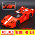 Новый Лепин 21009 Подлинной Творческой Серии из Печати FXX 1:17 Гоночный Автомобиль F1 Car Set Строительные Блоки Кирпичи Игрушки 8156