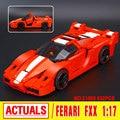 Nueva FXX Lepin 21009 Genuino Serie Creativa El Fuera de Impresión 1:17 Del Coche de Competición F1 Coche Conjunto de Bloques de Construcción Ladrillos Juguetes 8156