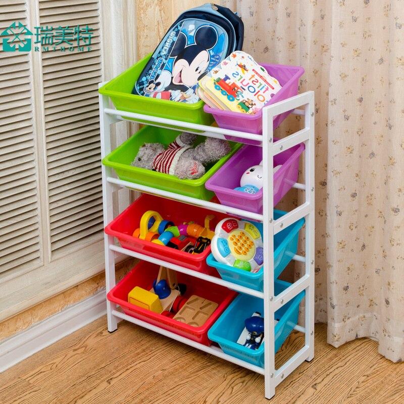 Estantes para juguetes good organizador con cajas para - Estantes para juguetes ...