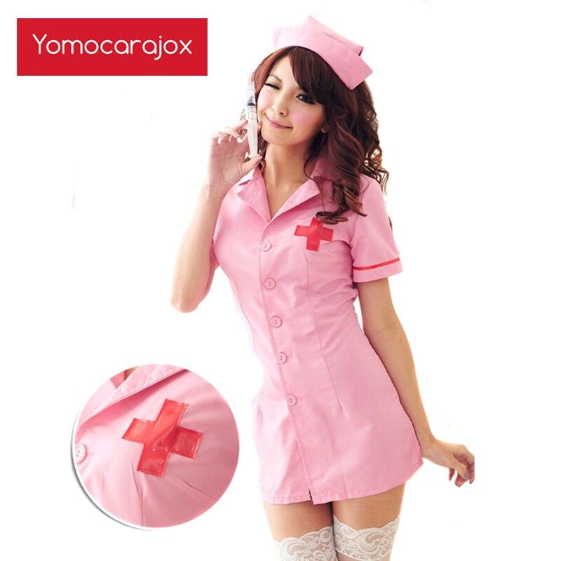 Quente sexy enfermeira traje erótico role play lingerie feminina roupa interior vermelho uniforme jogos noite babydoll langerie bdsm