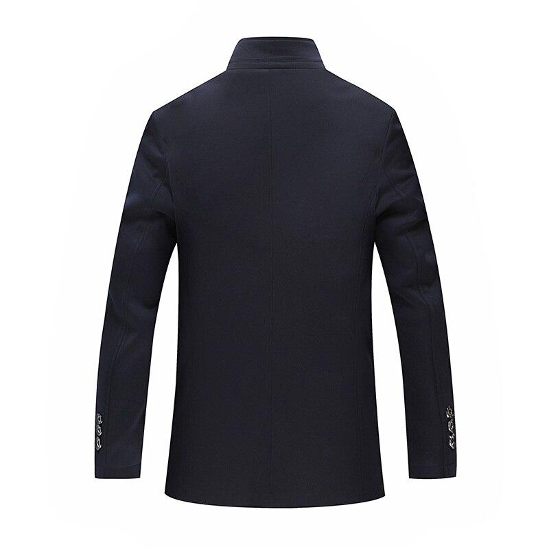 2018 Nuovi Uomini di Casual Giacche Vendita Calda Per Il Tempo Libero Vestito di Modo Allentato Giacca Masculino Singolo Petto Costume Homme Formato 7XL 8XL-in Blazer da Abbigliamento da uomo su  Gruppo 3