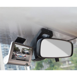Image 4 - 4.0 pollici 1080P Macchina Fotografica Dellautomobile DVR 170 Gradi Video Recorder Auto con Videocamera Vista Posteriore G sensor Dash Macchina Fotografica del veicolo