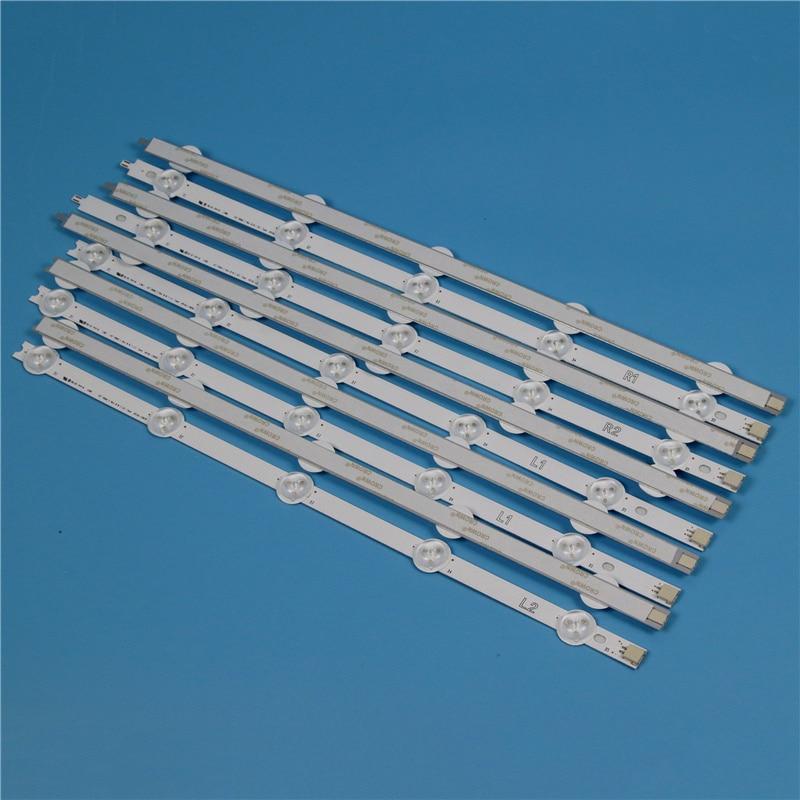 10 Lamps 820mm LED Backlight Strip Kit For LG 42LN613V 42LN613S -ZB 42 Inchs TV Array LED Strips Backlight Bars Light Bands