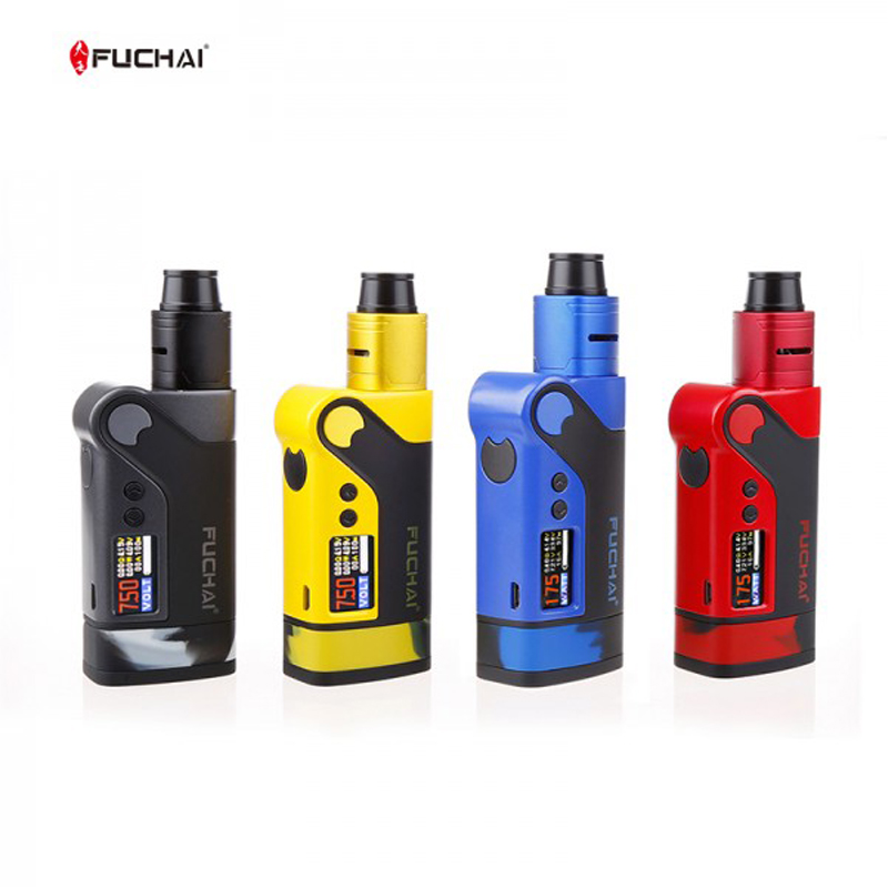 Original Electronic Cigarettes Sigelei Fuchai Vicigo K2 Box Mod Kit with Vicigo RDA Atomizer 230w Vaporizer VS Fuchai Squonker цены онлайн