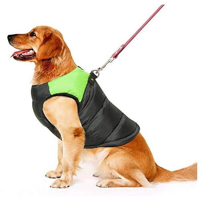 Il Prezzo Più Economico 1 Pcs Inverno Prodotti Per Cani Gatto Gilet Trapuntato Cappotto Cucciolo Caldo Giù Giacca Di Cotone 100% Giubbotti Abbigliamento Ricco E Magnifico