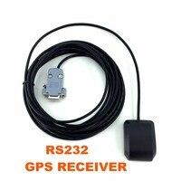 Aplicaciones de control Industrial Envío Libre 5 V rs232 DB9 RS-232 ublox6010 receptor GPS Antena Gps Módulo de Chip Diseño, nmea0183