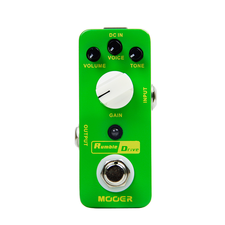 Mooer Rumble Drive Guitar Effects Pedal Round and Smooth Overdrive Tone True Bypass nematode parasite infesting lizard and their physiological effects