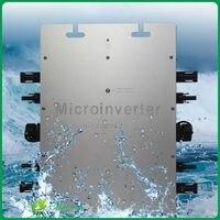 Maylar Солнечный Мощность микро инвертор MaySun1200W DC 22 50 В к AC 220 В Водонепроницаемый чистая синусоида преобразователь подходит для домашнего PV Си