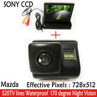 SONY CCD Car Rearview Parking Camera With 4 3 Inch TFT LCD Monitor For Reversing Backup