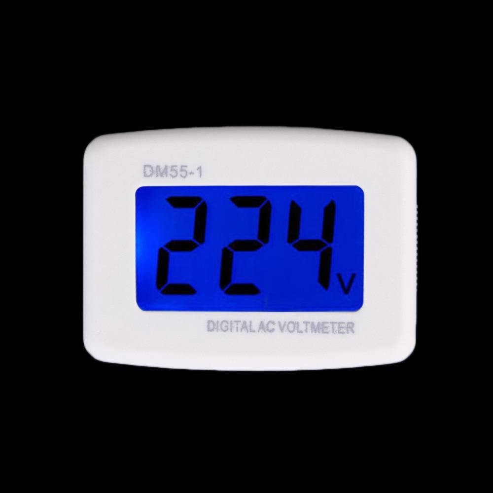Electrical Instruments DM55-1 AC 80-300V LCD Digital Volt Meter Voltmeter US Plug Electric Pen Voltage Testers Brand New