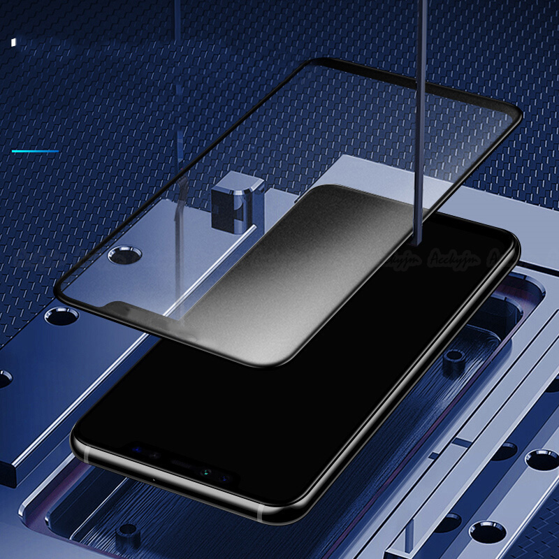 Full Cover Matte Frosted Screen Protector Tempered Glass For Huawei Models 15