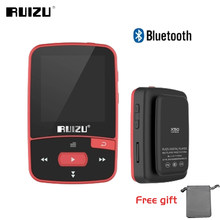 Ruizu Sport Audio Mini Bluetooth Mp3 Player Music Audio Mp 3 Mp-3 With Radio Digital Hifi Hi-Fi Screen Fm Flac Usb 8Gb Lossless(China)