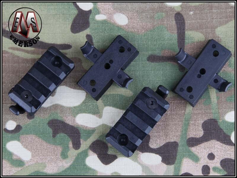 Emerson Tactical Helmet font b accessories b font rail clamp rack black