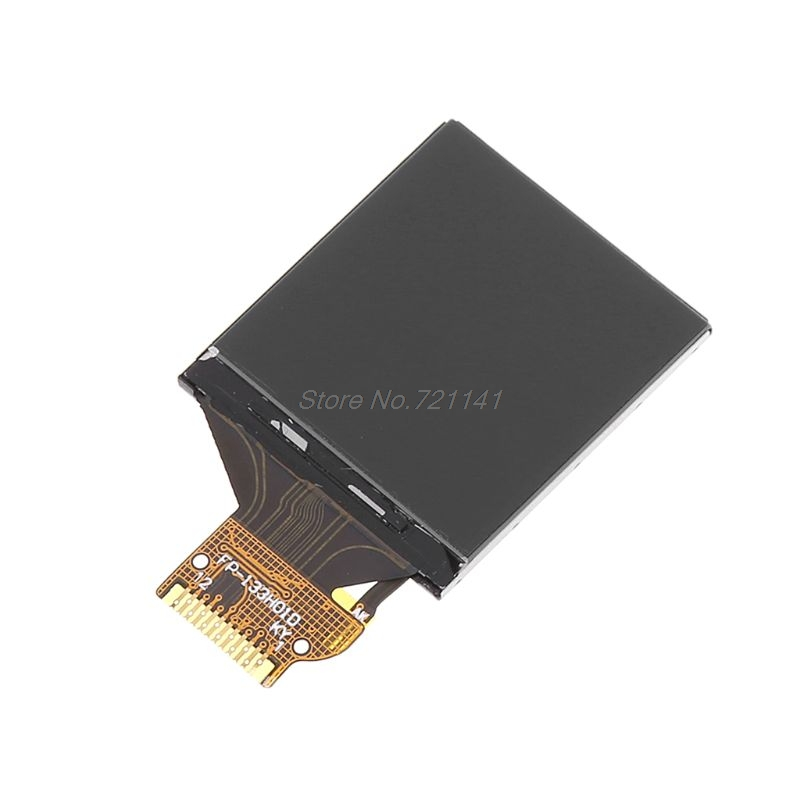 New IPS 1.3 Inch 3.3V 12PIN SPI HD Full Color TFT Display Screen ST7789 Drive IC 240*240 Dropship