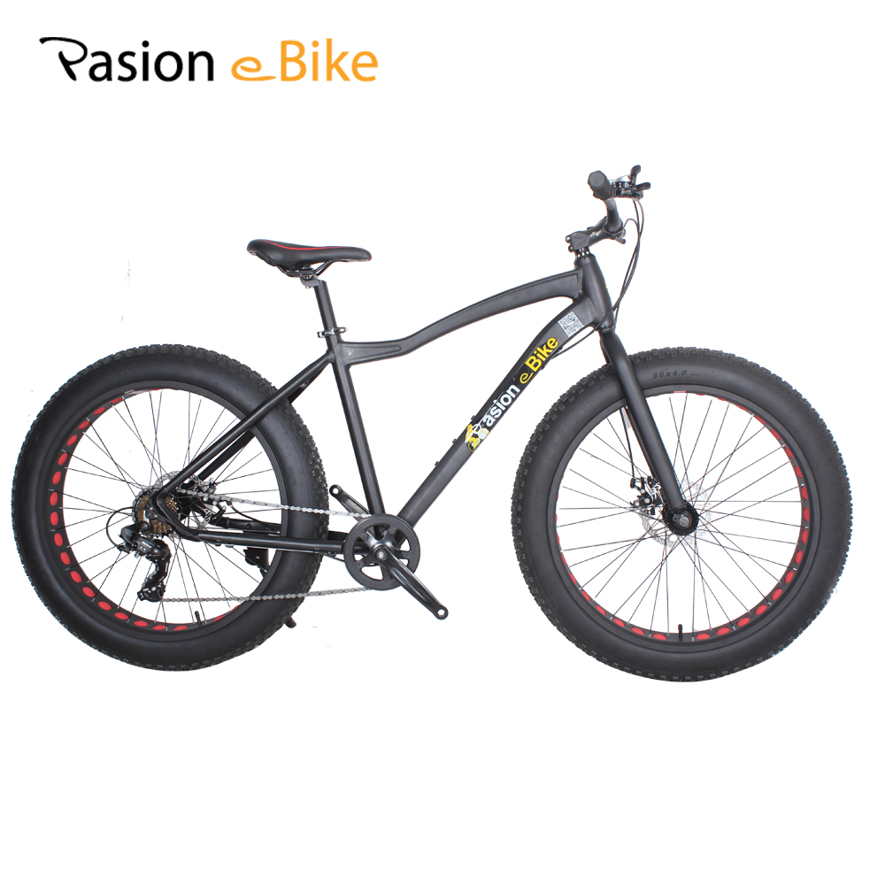 Pasion E Bike 7 Speed Fat Bike Frame Aluminum 26*4.0 Fat Tire Mountain Bike MTB Men Women Student Bicycle Cycling Bicicleta bisset bscc92sabs bisset page 1