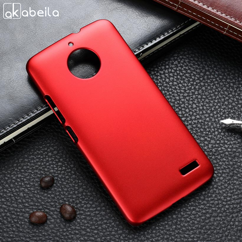 AKABEILA Case For Moto <font><b>E4</b></font> Case Hard Plastic Matte Black Cases Coque For <font><b>Motorola</b></font> Moto <font><b>E4</b></font> Cover Etui E 4th Gen European Version image