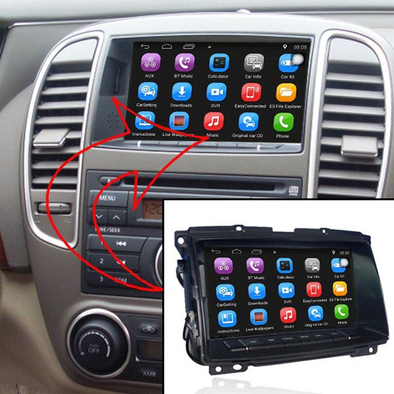 Android 7.1 a amélioré le costume Original de Navigation de GPS de voiture de lecteur multimédia de voiture à Nissan Sylphy (2010 après) soutiennent le WiFi