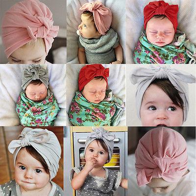 Fashion Baby Girl's Turban Photo Props
