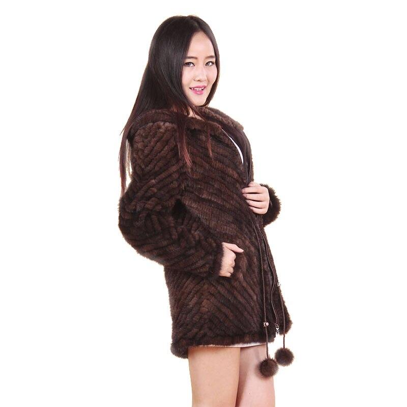 2015-ös téli női valódi valódi természetes kötött - Női ruházat